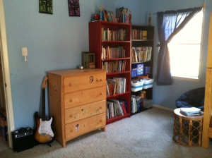 AFTER: Beautiful clean room, side one