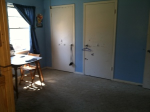 AFTER: Beautiful clean room, side two
