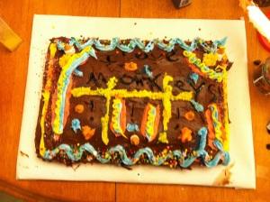 Ben's cake of randomness.