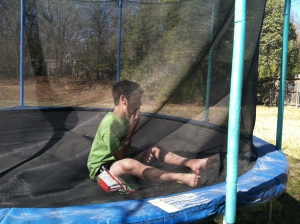 On Kay's trampoline