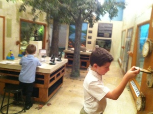 Touring the Heard Museum in McKinney