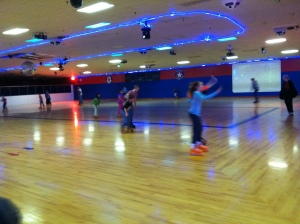 Roller skating in Garland