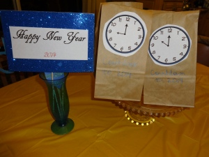 Some of our New Years Eve goodies.