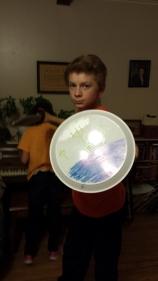 David and his shield