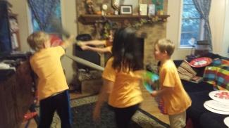 More sword fighting!